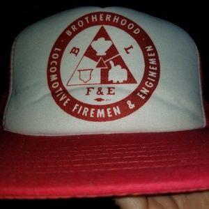 Other - Locomotive Firemen And Enginemen Brotherhood Hat